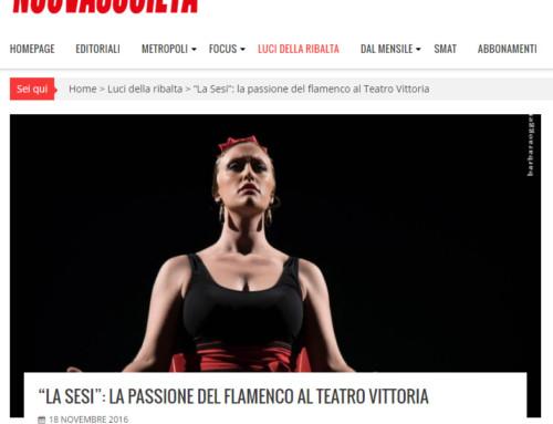 """""""LA SESI"""": LA PASSIONE DEL FLAMENCO AL TEATRO VITTORIA"""