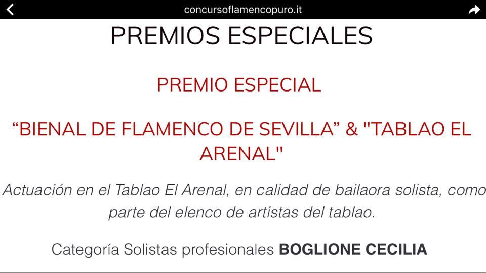 "TABLAO ""El Arenal"" // Sevilla"