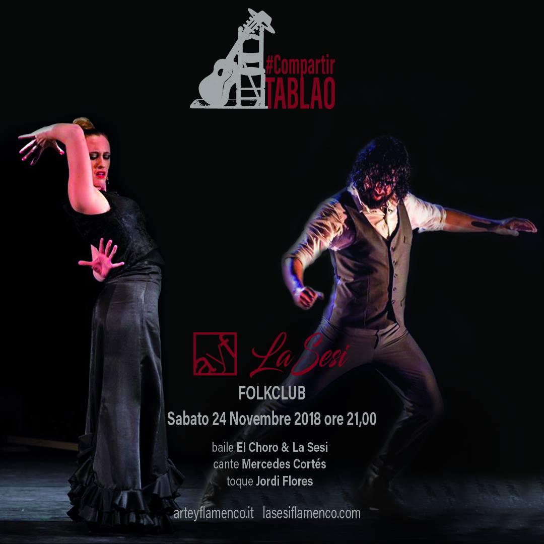 #CompartirTablao // La Sesi & El Choro